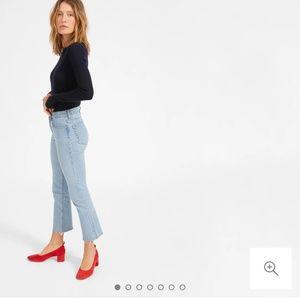EVERLANE Kick Crop Jean